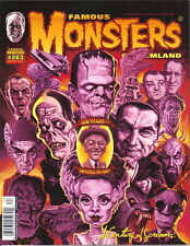 Famous Monsters of Filmland Magazine #263, Newstand Collage Cover 2012 UNREAD