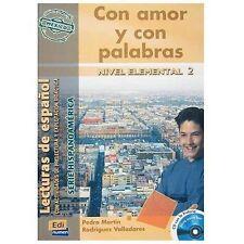 Con Amor Y Con Palabras (m?xico) Book + Cd (hispanoamerica) (spanish Edition)...