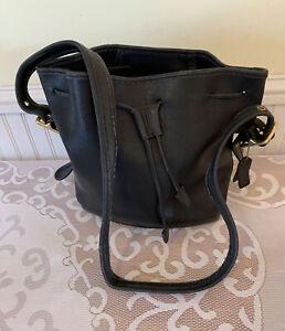 Vintage Coach Drawstring Bucket Bag Handbag 9952 Please Read Description