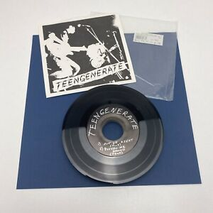 """TEENGENERATE: Out Of Sight 7"""" Single  45 RPM Garage Japan Punk Rip-Off Records"""