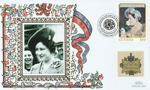 GUYANA 2007 QUEEN MOTHER 5th ANNIVERSARY OF HER DEATH BENHAM LE COVER c