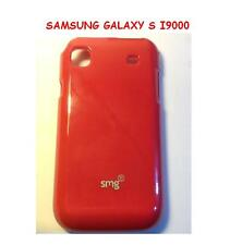 Custodia cover SILICONE Tpu CASE JELLY PER SAMSUNG GALAXY S I9000 ROSSA RED