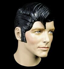 1 Pieces Black Elvis Latex Wig Headgear Halloween Mask Makeup Prop Cosplay Funny