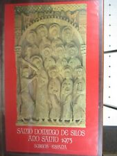 "1973 Burgos Spain Poster Santa Domingo De Silos One Sided 38.5"" x 24"" PO26"