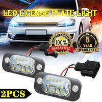 2x TOP Qualität LED Kennzeichenbeleuchtung VW Polo Stufenheck X18