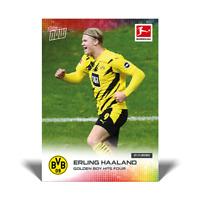 Topps Now Bundesliga 2020-21 - Card 44 - Erling Haaland - Borussia Dortmund