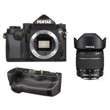 Pentax KP 24.32 DSLR Camera Black + DA 18-55mm Zoom Lens + D-BG7 Battery Grip
