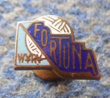 FORTUNA WYRY ICE HOCKEY FOOTBALL SOCCER POLAND CLUB 1960's SMALL SCREW PIN BADGE