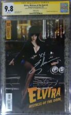 Elvira Mistress of the Dark #2 photo cvr_CGC 9.8 SS_Signed by Cassandra Peterson