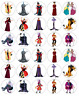 Disney Villains x 30 Cupcake Toppers Edible Wafer Paper Fairy Cake Toppers