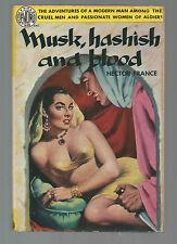 MUSK, HASHISH, AND BLOOD Hector France 1952 Avon 415 SEXY GGA ARAB +Knife Cover!