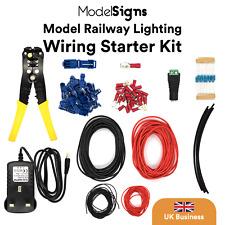 More details for modelsigns model railway lighting wiring starter kit - tools wiring power supply
