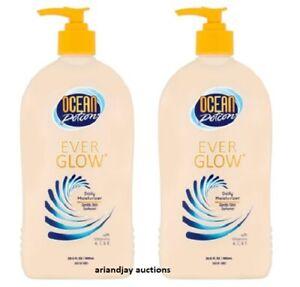 Lot of 2 New Ocean Potion Ever Glow Gentle Skin Darkener Moisturizer 20.5 oz x 2