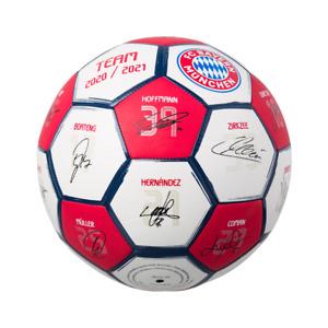 FC Bayern München Unterschriften Signature Mini Ball 2020/21