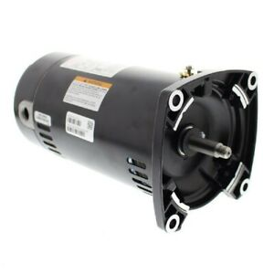 A.O. Smith USQ1072 0.75HP 115/230V Square Flange Up Rate Pool Filter Motor