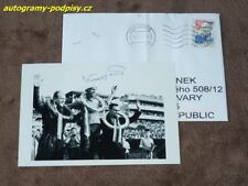 Antonin KASPER sr. (+2017) - original autogramm, Foto+cover 10x15 cm/2 Speedway