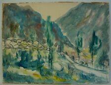 CARL BEIER 1896-1982 MALLORCA - SPAIN - DÄNISCHER KÜNSTLER - EXPRESSIONIST