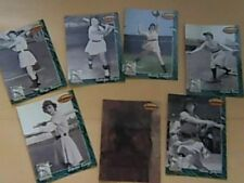 1994 Ted Williams Card Company Women of Baseball sub set of 7 cards free ship A