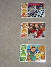 Bear Fruit Yo Yo Bear's Time Travel Adventure Cards (38, 39, 48)
