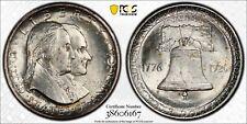1926 Sesquicentennial 50C Commemorative Silver Half Dollar PCGS MS 64
