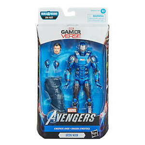 Marvel Legends Avengers Gamerverse: Wave 2:  (Stealth) IRON MAN JOE FIXIT