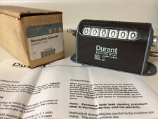 *New* Eaton Durant Revolution Counter 6-Hdw-7-1R-Cl Ratio 1:1 Serial 691