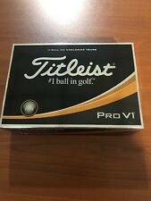 Brand New Titleist Pro V1 Dozen Custom