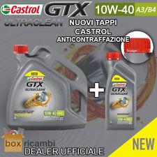 OLIO CASTROL GTX 10W40 A3/B4 Motore DIESEL BENZINA 5 LT Litri - CASTROL ITALIA