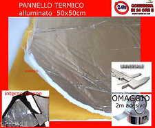 protezione calore alte temperature  sella e carena  ADESIVO 50x50 con alluminio