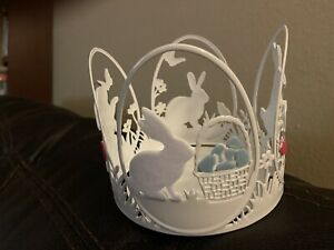 Bath and Body Works Easter Bunny Candle Holder