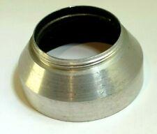 33mm series 5 V Metal Lens Hood Shade screw in for 33.3mm