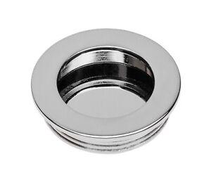 Recessed Flush Sliding Door Handle, Insert Round Handle