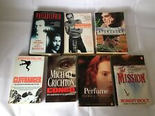 7x Film Tie-In Novels Acceptable Condition Trainspotting Philadelphia Congo