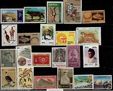 NEPAL 25 DIFFERENT THEMATIC STAMPS MINT MNH ALL LARGE STAMPS