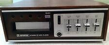 AMEREX AC-500 8 TRACK STEREO With Speakers & 12 Tapes Perfect Condition