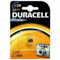 Lithium Battery CR1/3N (CR11108, 2L76, DL1/3N) 3.0V Duracell