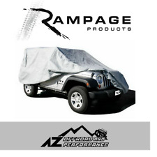 Rampage Custom Fit Breathable Cover for 07-18 Jeep Wrangler JK 2 Door 1203 Gray