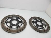 SUZUKI SV650 SV 650 2003 03-09 FRONT RIGHT & LEFT BRAKE DISCS ROTORS 59210-08F10