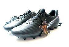 Nike Legend 7 Elite Calf Leather Fg Soccer Cleats & Bag Black Av1906 001 Sz 9