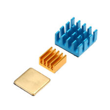 Aluminum Raspberry Pi Heatsink Adhesive Heat Sink Set for RPI 2 3 B B+ Plus I0O8