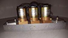 "Versa Valve Hydraulic Bank w/ Aluminum Block,1/4"", 3004050, SIEM-6E-11"