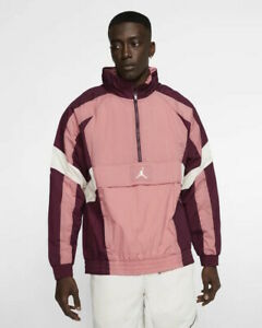 Nike Jordan Wings Windwear Giacca Sportiva Uomo Mezza zip Sportswear