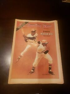 The Sporting News April 8, 1972 Roberto Clemente No Label