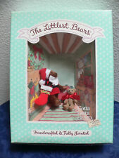 1994 Gund The Littlest Bears 7010 Santa Claus & Elf Handcrafted & Fully Jointed