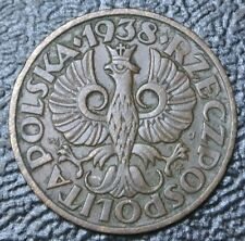 1938 POLAND - 2 GROSZE - BRONZE - Nice