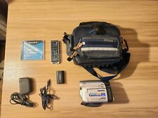 Samsung Sc-Dc164 Dvd Camcorder bundle. used once or twice.