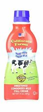 California Farms Sweetened Condensed Milk Full Cream 14 Oz. (Si... Free Shipping
