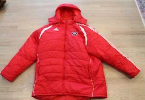 adidas Chicago Fire Soccer--Player's  Stadium Jacket, 2XL