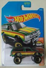 2016 Hot Wheels Chevy Blazer 4X4 Series Hw Hot Trucks Diecast Scale 1/64 New A14