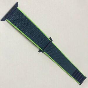 Original Apple watch Series 7 6 5 4 3 Sport loop 38mm 40mm 41MM band Neon Lime